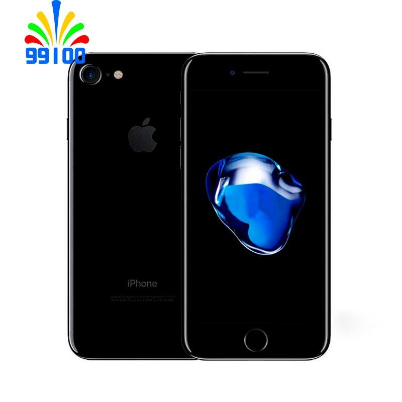 Б/у разблокированный оригинальный Apple iPhone 7 Quad Core 4,7 Inch 12.0MP камера с возможностью съемки видео 4 аппарат не привязан к оператору сотовой связи ...