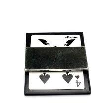 цена Utility Card Frame Magic Tricks Vanish And Change A Card Magic Props For Magician Close Up Illusion Gimmick Mentalism Classic онлайн в 2017 году