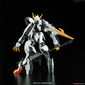 Image 4 - Bandai Gundam Full Mechanics Gundam Barbatos Lupus Rex Assemble Model Kits Action Figures Plastic Model toys