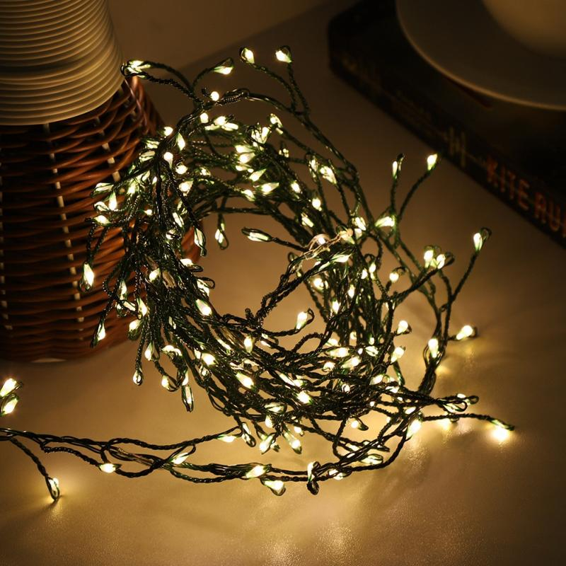 guirlande led Christmas String Fairy Lights LED Copper Wire Starry String Light for Outdoor Indoor Christmas Tree Wedding Decor