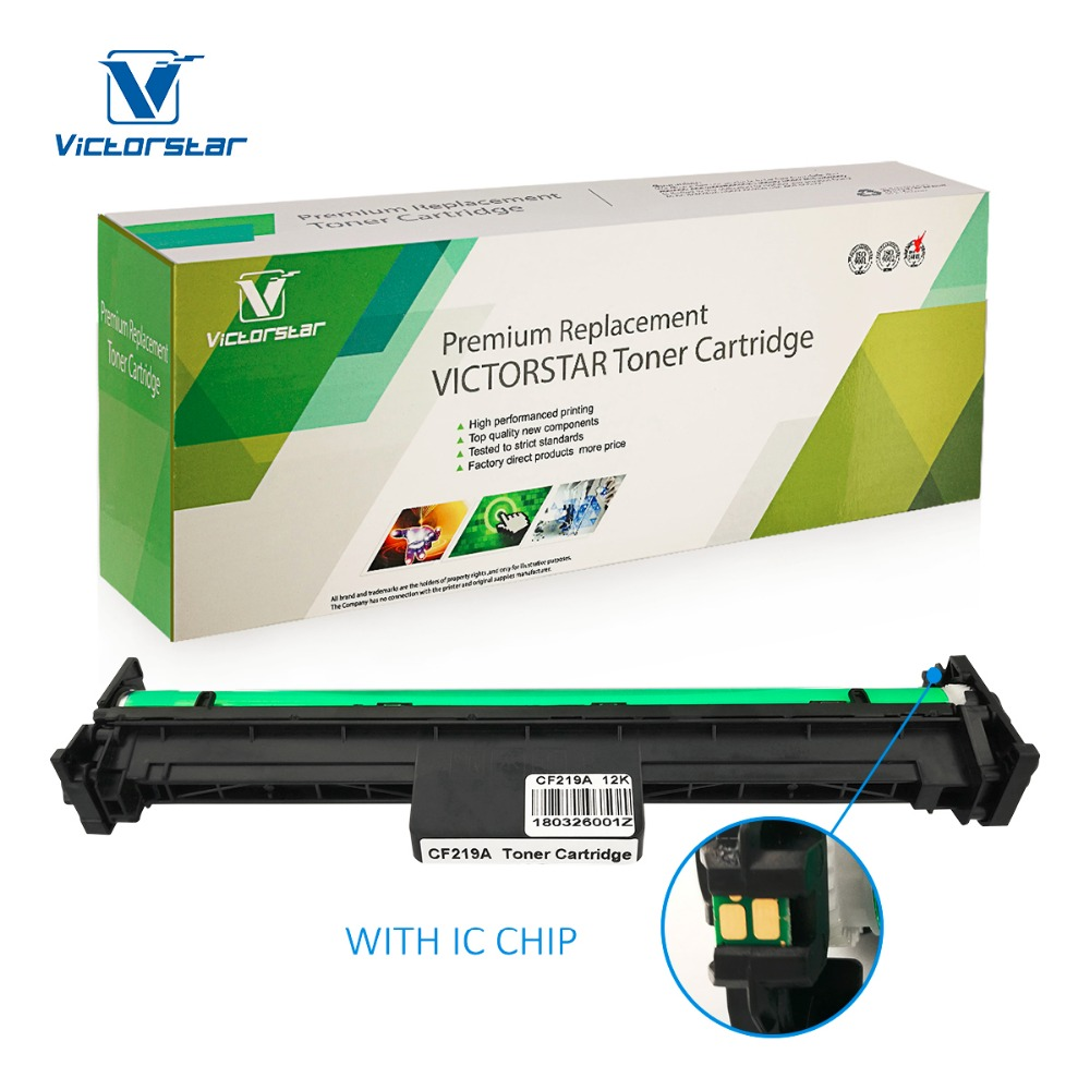 Compatible Drum Unit CF219A ( 19A ) with Chip VICTORSTAR for use in HP LaserJet Pro M102a M102w, LaserJet Pro MFP M130fn M130fw стоимость