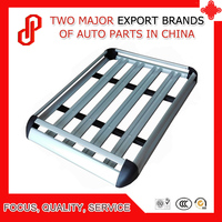 High quality Universal Aluminium alloy 130*100 / 140*100 cm roof rack Luggage Carrier Basket For Car with roof rack