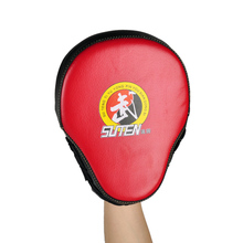 2019 New Style Top SUTEN PU Leather Punching Kicking Pad Firm Comfortable MMA Boxing Curved SUTENG Taekwondo Target 3 Colors