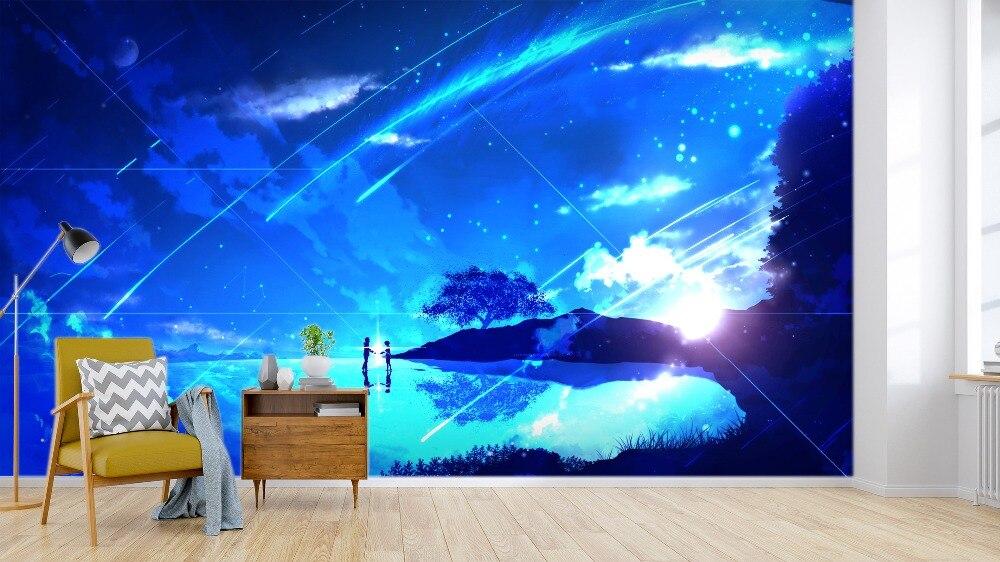 [Самоклеющиеся] 3D ваше имя 332 Япония Аниме Обои росписи стены печати настенные наклейки