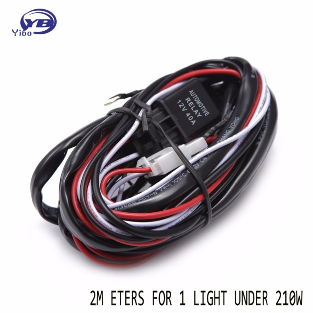 Cool Offroad Car Led Light Bar Wire 2 0M 12V 24V 40A Wiring Harness Loom Wiring Cloud Oideiuggs Outletorg