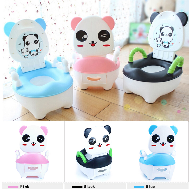 Panda Portable Baby Kid Children Toddler Toilet Plastic