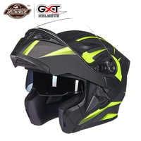 Nuevo casco de Motocicleta GXT Flip up casco de Motocross Capacete da Motocicleta Cascos Moto Casque doble lente de carreras casco de montar #