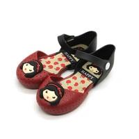 Fashion Princess Sandals New Pattern Tide Cartoon Girl Double Bottom Jelly Hasp Non-slip Plastic Shoe Light Eur 24 - 29
