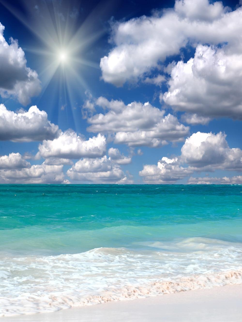생명의 매직 박스 150X200Cm 사진 배경 사용자 지정 Abric Sea Sky Scenery 사진과 함께 Wy00006