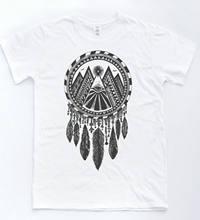 Illuminati Dreamcatcher T-shirt Indie Hipster Tee Retro Vintage Tumblr Top  Summer Short Sleeves Cotton Fashiont Shirt 8aafcb429241