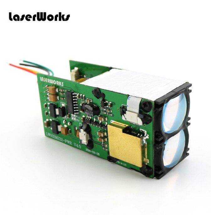 LaserWorks 1500meter RS232 laserowy czujnik odległości moduł LRF TOF dalmierz laserowy do automatyki przemysłowej