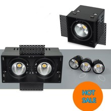 4PCS/lot 15W LED Grille Lamp,Dimmable 2*15W Beans Gall Lamp ,High Power High Lumens 30W Led Light AC110V/AC220V