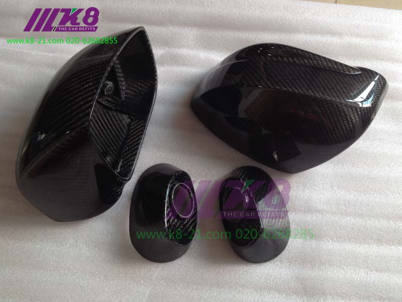 Carbon Fiber OEM Car Accessories Car Styling Mirror Frame Shell Replacement 4pcs For Nissan R35 GTR new 2pcs side mirror cover for nissan skyline r34 gtt gtr carbon fiber car accessories car styling
