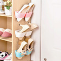 Bathroom storage shelf,suction wall shoe rack,candy colour shoes shelf 2016 hot