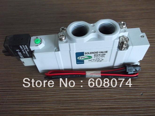 TPC DV4120-5H-02 SOLENOID VALVE Rc1/4 DC24V цена
