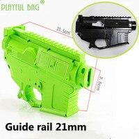 Creative Playful bag Outdoor CS essential jinming M4 split casing water bullet gun conversion accessories mkm2 split casing OA07
