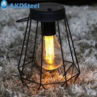 AKDSteel E7 Solar-Powered Olio-Forma Della Luce di Notte del LED per Casa Viaggio Attività All'aperto Natale Capodanno decorazione
