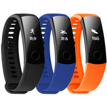 Substituição acessórios Bandas de Fitness Rastreador XBERSTAR Premium TPE Strap Pulseira Pulseiras para a Huawei Honra A2 Inteligente Pulseira
