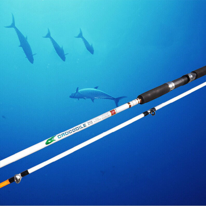 Lure rod frp fishing rod solid cast rod long shot fishing for Shooting fishing rod
