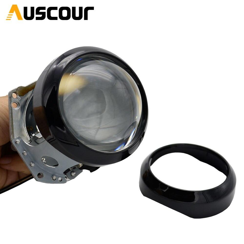 3.0 polegada bixenon carro hid lente do projetor máscara de cobertura de poeira mortalhas à prova ddustágua capa de vedação dustproof carro-estilo do carro modificar