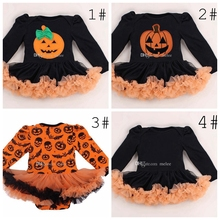 KUNKUNXIONG Baby jumpsuits girl boy Halloween cotton