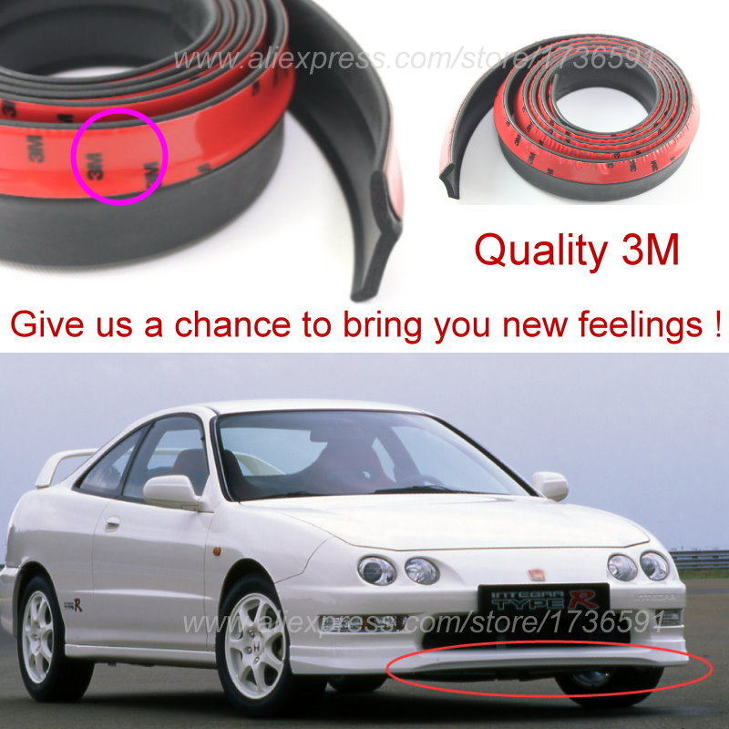 For Honda Integra For Acura RSX For Rover I Bumper Lips Tuning - Body kits for acura integra