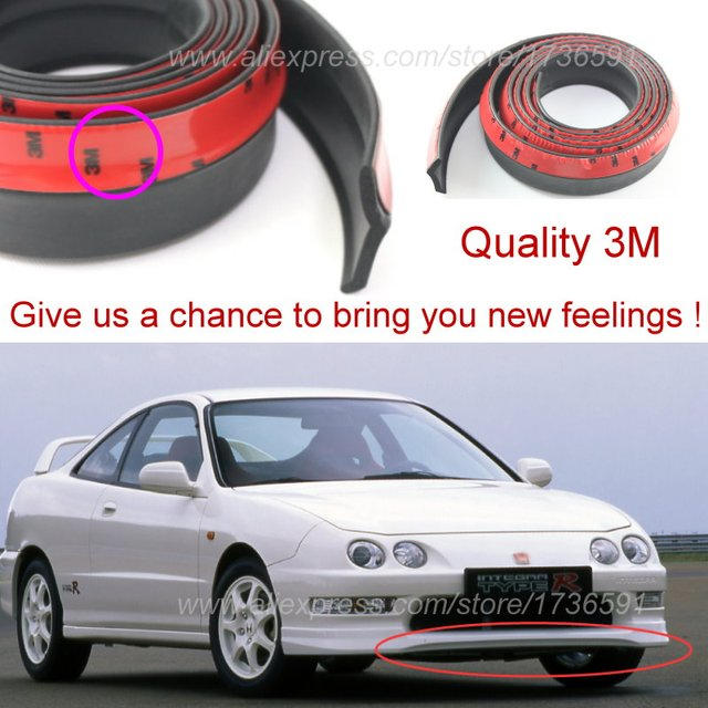 for honda integra for acura rsx for rover 416i bumper lips tuning