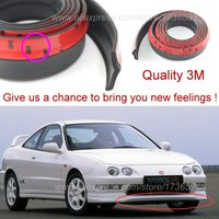 For Honda Integra For Acura RSX For Rover 416i Bumper Lips / Tuning Body Kit Strip / Front Tapes / Body Chassis Side Protection