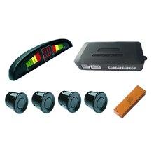 LED Датчик Парковки автомобилей Монитор Автоматической Двухсторонней Резервное Копирование Радар-Детектор Система + СВЕТОДИОДНЫЙ Дисплей + 4 Датчики 6 цветов на выбор оптом