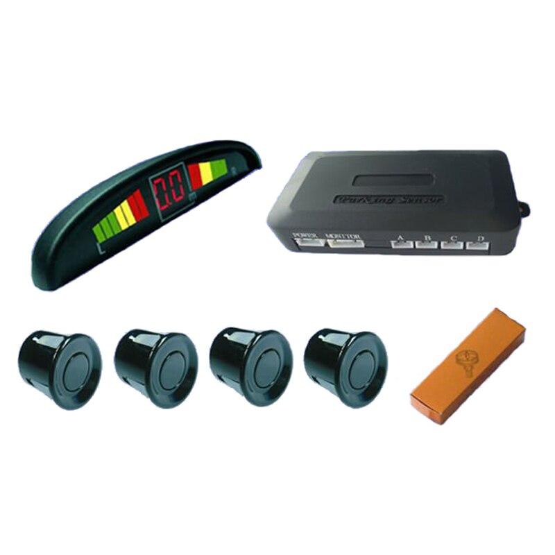 Car LED Parking Sensor font b Monitor b font Auto Reverse Backup Radar Detector System LED