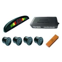 Parking del coche LED Sensor Monitor de Auto Reverse Radar Detector de Backup System + Pantalla LED + 4 Sensores 6 colores para elegir al por mayor
