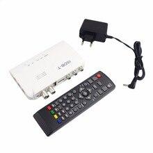 Mini ISDB T Digital Terrestrial TV Receiver HD Video Converter ISDB-T Terrestrial Set Top Box for TV LCD Tuner TV Receiver