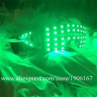 Fashion Colorful Led Luminous Flashing Glowing Glasses Party Halloween DJ Club Can Change 7 Colors Stage Eyewear