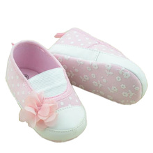 Toddler Baby Princess Girls Flower Crib Shoes Soft Sole Slippers Sneakers Shoes 0-18 M