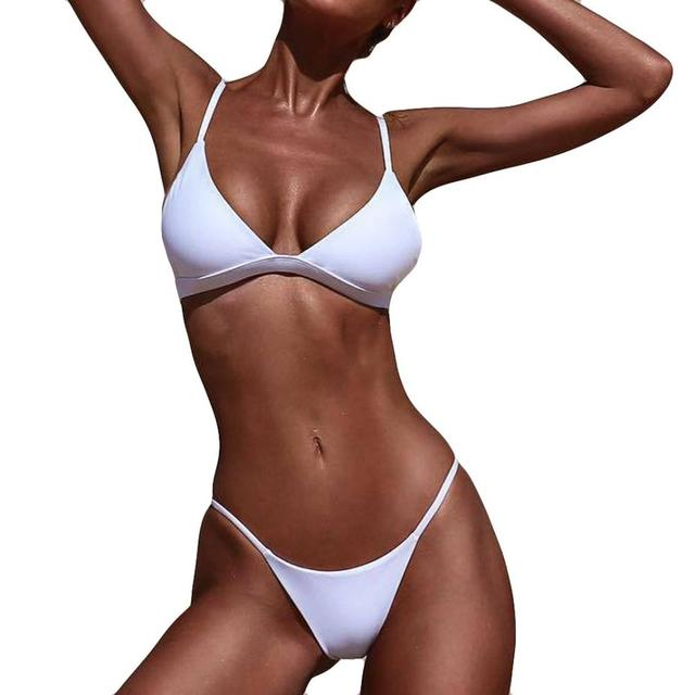 bikini 2018 Women Push-Up Padded Bra Beach  swimsuit women sexy bikini set swimsuit push up swimwear bathing suit women biquini