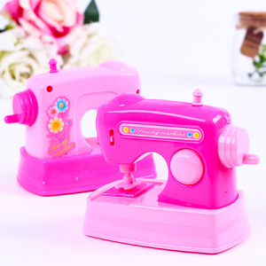 Image 3 - 1PCS Kawaii Pretend Play Mini Simulation Kitchen Toys Light up & Sound Pink Household Appliances Toy for Kids Children Baby Girl