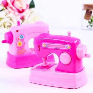 Image 3 - Kawaii brinquedos de cozinha 1 peça, fingir, jogar mini simulação, luz up & som, rosa, eletrodomésticos, brinquedo para crianças crianças bebê menina