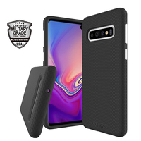 AmzBoon X Guard 2 in 1 Protection Case for Samsung Galaxy S10 Shockproof Cover S10e S10 Plus Soft TPU Hard PC Armor Hybrid Shell