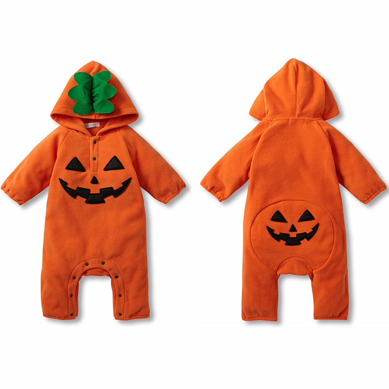 Halloween Baby Rompers Spring Baby Girl Clothes Cotton Baby Boy Clothes Fashion Newborn Baby Clothes Roupas Bebe Infant Jumpsuit