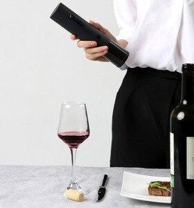 Image 2 - Novo original huohou kit garrafa de vinho automática saca rolhas elétrico com cortador de folha 2018 mais novo chegam