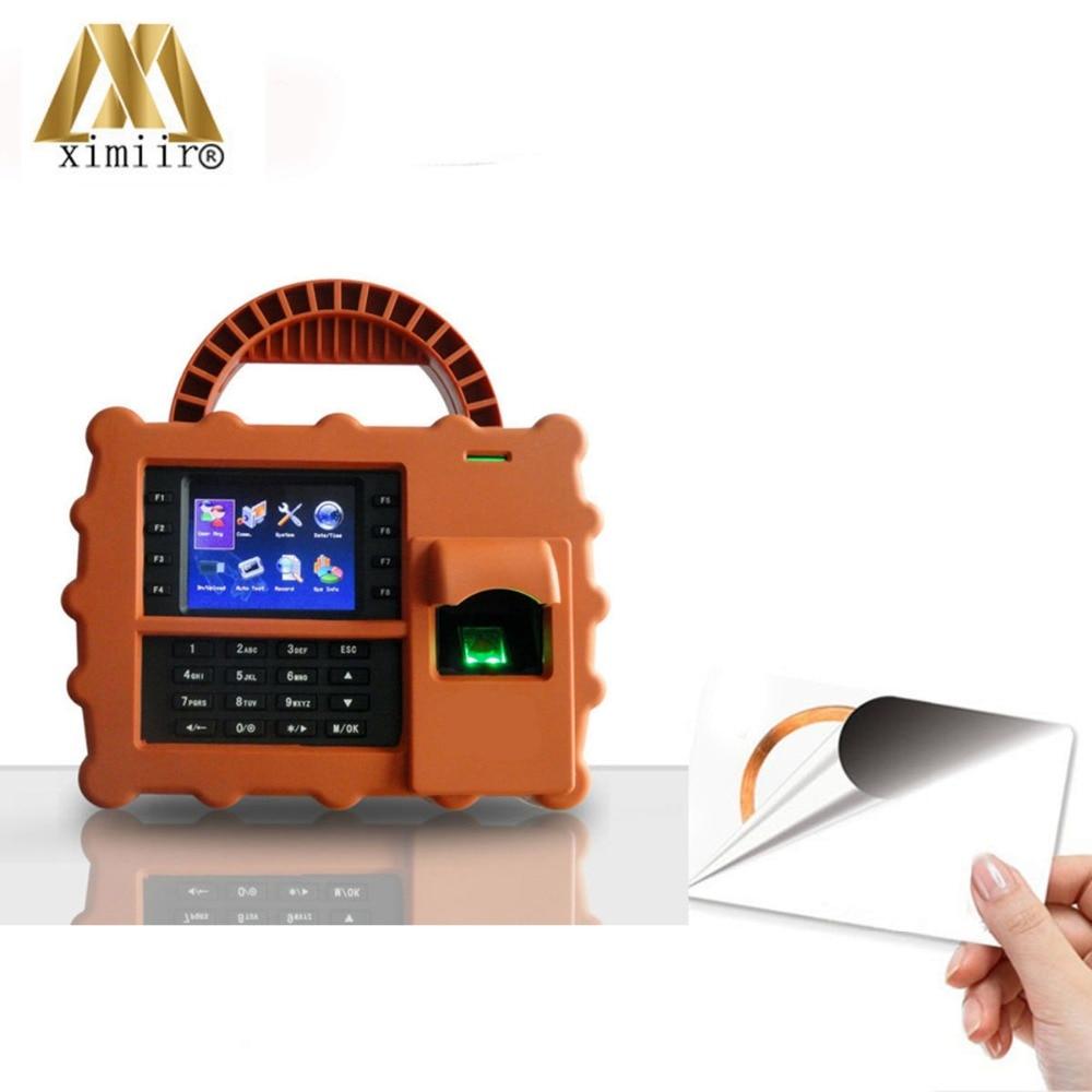 Free SDK 5000 Fingerprint User TCP/IP Wi-Fi S922 Employee Time Recording 13.56MHz IC Card Fingerprint Time Attendance System