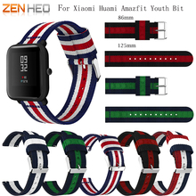 Nylon Band For Amazfit Bip Youth Watchband Replace for Xiaomi Huami Bracelet Bit Wrist Strap