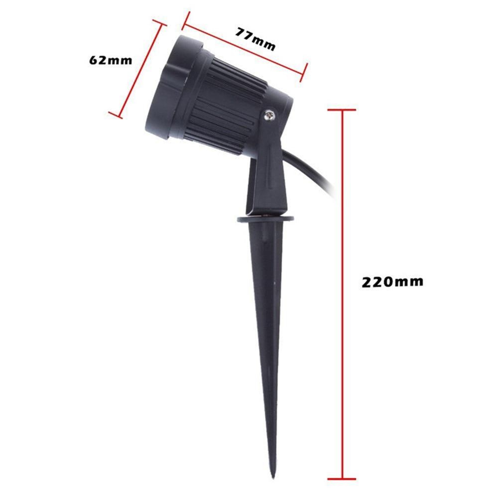 Lâmpadas do Gramado do gramado lâmpada Lumens : 300-600lm