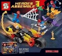 2017 New Hot Sale SY842 Marvel Super Heroes Batman And The Crocodile Killer Wars Building Blocks