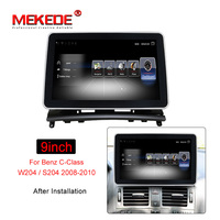 MEKEDE 9 Android 7.1 Car DVD Player For Mercedes Benz C200 C180 W204 2008 2010 WIFI Car Multimedia Player GPS Navi Car Radio