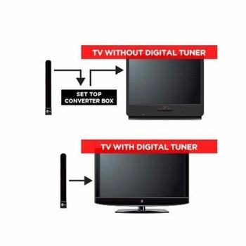 Ясно ТВ антенны ключ HD ТВ цифровой комнатная антенна Full HD 1080 P ров кабельного телевидения сигнала укрепление Aerial легко комплект-Up