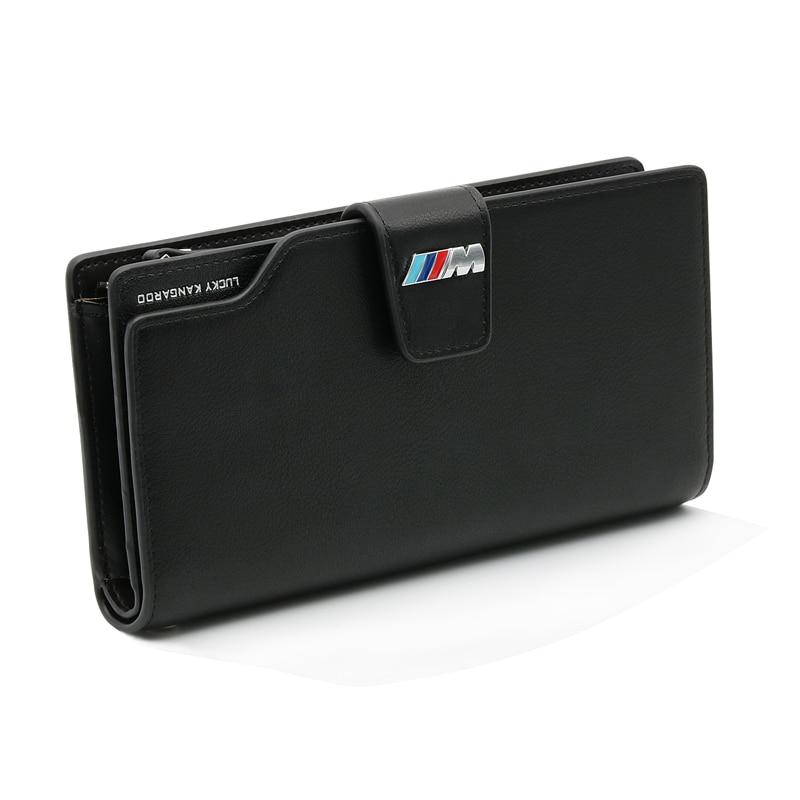 Coche Licencia de Conducir tarjeta de crédito bolso walletfor BMW E90 E60 F30 F10 F15 E63 E64 E65 E86 E89 E85 E91 e92 E93 F02 M5 E61 F01 GT M