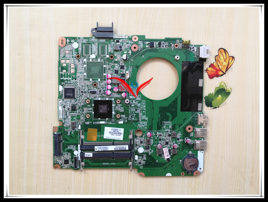 737141-501 FOR HP PAVILION TOUCHSMART 15 15-N E1-2500 SERIES laptop motherboard DA0U93MB6D0 REV:D mainboard fully tested 734826 001 laptop notebook motherboard system board 734826 501 for hp pavilion touchsmart 15 15 n a4 5000m series 100% tested