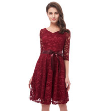 Beauty Emily Wine Red Lace Party Prom Dresses 2019 Short for Women A-Line Half Sleeve Formal Party Prom Homecoming Dresses beauty emily wine red lace party prom dresses 2019 short for women a line half sleeve formal party prom homecoming dresses