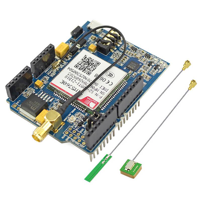 GSM/GPRS/EDGE A-GPS Shield Card